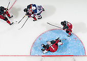 MEDICINE HAT, AB - Oct 31 2019: Canada Red vs USA during the 2019 World Under-17 Challenge at the Canalta Centre on Oct 31 2019 in Medicine Hat, Alberta, Canada. (Photo by Matthew Murnaghan/Hockey Canada Images)