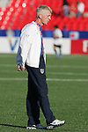 11 July 2007: USA head coach Thomas Rongen, pregame. The Under-20 Men's National Team of the United States defeated Uruguay's Under-20 Men's National Team 2-1 after extra time in a  round of 16 match at the National Soccer Stadium (also known as BMO Field) in Toronto, Ontario, Canada during the FIFA U-20 World Cup Canada 2007 tournament.