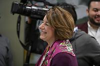 Las Vegas, NV - FEBRUARY 14: Amy Klobuchar Touring The Culinary Health Center in Las Vegas, Nevada on February 14, 2020. Credit: Damairs Carter/MediaPunch
