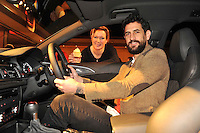REPRO FREE: 8-12-13: Kerry footballer Paul Galvin and celebrity chef Rachel Allen pictured at the Audi Roadshow which featured the entire Audi 2014 collection  in the INEC, Killarney on Sunday.<br /> Picture by Don MacMonagle