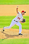 4 March 2012: Washington Nationals pitcher Brad Lidge on the mound against the Houston Astros at Space Coast Stadium in Viera, Florida. The Astros defeated the Nationals 10-2 in Grapefruit League action. Mandatory Credit: Ed Wolfstein Photo