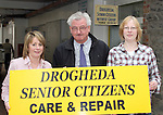 Pauline Connor, Fran Flood of Age Action Care and Repair and Kay Dunican at the launch the Care and Repair Programme at the Drogheda Senior Citizens office on Mayorality Street. ..(Photo credit should read Jenny Matthews/www.newsfile.ie)....This Picture has been sent you under the conditions enclosed by:.Newsfile Ltd..The Studio,.Millmount Abbey,.Drogheda,.Co Meath..Ireland..Tel: +353(0)41-9871240.Fax: +353(0)41-9871260.GSM: +353(0)86-2500958.email: pictures@newsfile.ie.www.newsfile.ie.