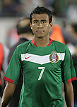 1 March 2006: Mexico's Luis Alonso Sandoval. The National Team of Mexico defeated the National Team of Ghana 1-0 at Pizza Hut Park in Frisco, Texas in an International Friendly soccer match.