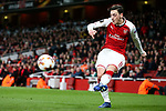 Mesut Ozil of Arsenal during the UEFA Europa League Quarter-Final 1st leg match at the Emirates Stadium, London. Picture date 5th April 2018. Picture credit should read: Charlie Forgham-Bailey/Sportimage