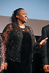 Jeryl Cunningham sings Soprano at the John Jay Justice Award ceremony, April 5 2011.