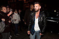 M. Pokora meets his fans in Brussels, following his last concert ' R.E.D TOUR ' - Belgium
