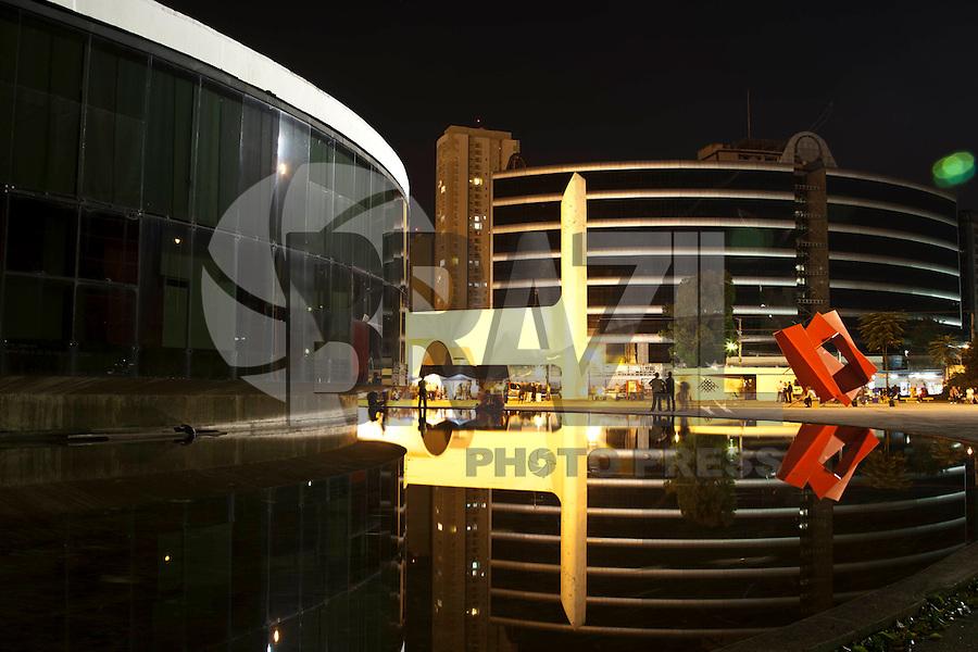 SAO PAULO, SP- 26/05/2012 - MEMORIAL DA AMERICA LATINA - inaugurado em 18 de março de 1989 o Memorial da América Latina ocupa uma area de 84.480 m², no bairro da Barra Funda, com o conceito e o projeto cultural desenvolvido pelo antropólogo Darcy Ribeiro.  FOTO VAGNER CAMPOS / BRAZIL PHOTO PRESS