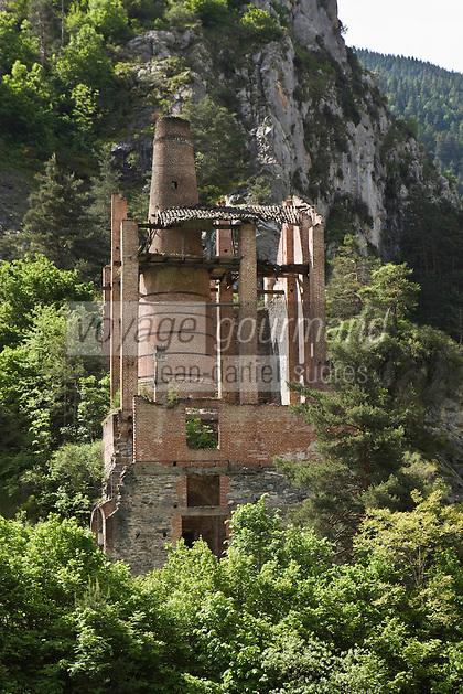 Europe/France/Provence-Alpes-Côtes d'Azur/06/Alpes-Maritimes/Alpes-Maritimes/Arrière Pays Niçois/La Brigue: Ancien four à chaux