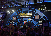 30.12.2015. Alexandra Palace, London, England. William Hill PDC World Darts Championship. A general view of Alexandra Palace during the game between Alan Norris and Mark Webster