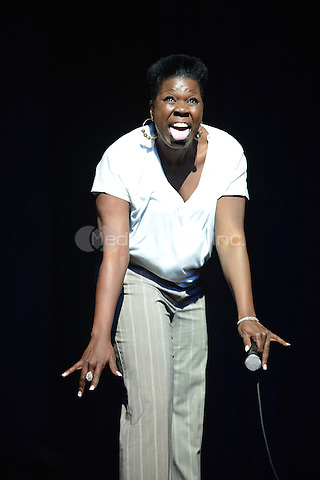 "MIAMI - MAY 27: Comedian Leslie ""Big Les"" Jones performs during 5th Annual Memorial Weekend Comedy Festival at the James L. Knight Center on May 27, 2010 in Miami, Florida. (photo by: MPI10/MediaPunch Inc.)"