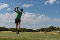 Jaye Marie Green (USA) watches her tee shot on 12 during round 4 of the Volunteers of America Texas Classic, the Old American Golf Club, The Colony, Texas, USA. 10/6/2019.<br /> Picture: Golffile | Ken Murray<br /> <br /> <br /> All photo usage must carry mandatory copyright credit (© Golffile | Ken Murray)