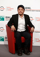 "Il regista giapponese Kazuya Shiraishi posa durante un photocall per la presentazione del suo film ""Birds Without Names"" durante a Festa del Cinema di Roma, 2 novembre 2017.<br /> Japanese director Kazuya Shiraishi poses for a photocall to present his movie ""Birds Without Names"" during the international Rome Film Festival at Rome's Auditorium, November 2, 2017.<br /> UPDATE IMAGES PRESS/Isabella Bonotto"