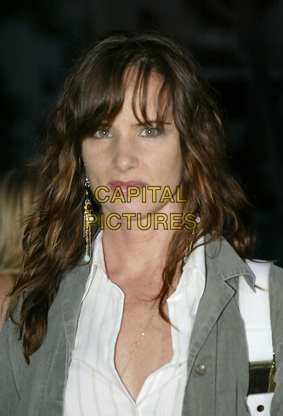 JULIETTE LEWIS.At 'Without A Paddle' World Premiere held at Paramount Pictures. Hollywood, CA, USA.August16, 2004.headshot, portrait, dangling earrings.www.capitalpictures.com.sales@capitalpictures.com.© 2004 by Charles Harris.