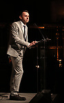 on stage at the  2017 Dramatists Guild Foundation Gala presentation at Gotham Hall on November 6, 2017 in New York City.