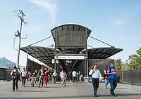 Indios Verdes, Metrobus Linea 1, Mexico DF, Mexico