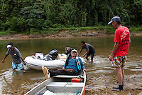 River Expedition to Sungai Petuang, a tributary of the Kenyir Dam in Malaysia.