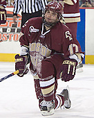 Joe Rooney - The Boston College Eagles defeated the University of Massachusetts-Lowell River Hawks 4-3 in overtime on Saturday, January 28, 2006, at the Paul E. Tsongas Arena in Lowell, Massachusetts.