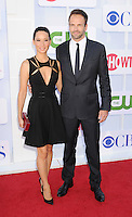 BEVERLY HILLS, CA - JULY 29: Lucy Liu and Jonny Lee Miller  arrive at the CBS, Showtime and The CW 2012 TCA summer tour party at 9900 Wilshire Blvd on July 29, 2012 in Beverly Hills, California. /NortePhoto.com<br />