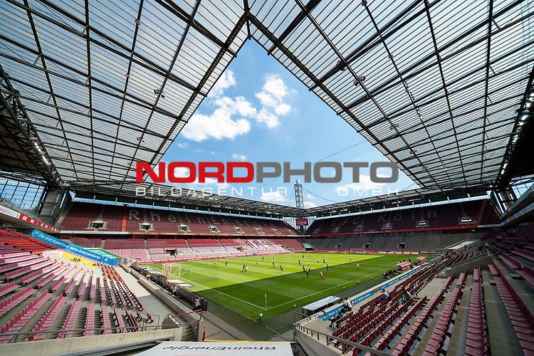 nph00351: Stadionuebersicht,Uebersicht waehrend das Spiel laeuft.<br /> Sport: Fussball: 1. Bundesliga: Saison 19/20: 26.Spieltag: 1.FC KOELN-FSV MAINZ 05,17.05.2020.<br /> Foto: Anke Waelischmiller/SVEN SIMON/POOL / via Meuter/nordphoto<br /> <br /> Nur für journalistische Zwecke! Only for editorial use!<br /> Gemäß den Vorgaben der DFL Deutsche Fußball Liga ist es untersagt, in dem Stadion und/oder vom Spiel angefertigte Fotoaufnahmen in Form von Sequenzbildern und/oder videoähnlichen Fotostrecken zu verwerten bzw. verwerten zu lassen. DFL regulations prohibit any use of photographs as image sequences and/or quasi-video.