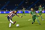 Junior venció como local 1-0 a Patriotas (2-1 en el global). Semifinales Copa Águila 2017.