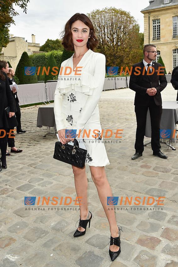 Olga Kurylenko <br /> Dior fashion show arrivals - Paris - 30/09/2016
