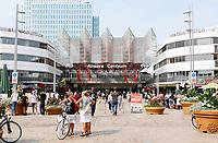 Nederland  Almere  2017. Het station in Almere Centrum.  Foto Berlinda van Dam / Hollandse Hoogte