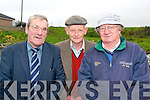 Celebrating Ballyheigue Pattern day on Thursday from l-r were: Mike Tuwly from Tipperary, Dan O'Carroll and Tom O'Leary from Ballyheigue.