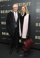 NEW YORK, NY - APRIL 10:Chuck Scarborough  attends the 'Beirut' New York Screening at The Robin Williams  Center on April 10, 2018 in New York City. <br /> CAP/MPI/JP<br /> &copy;JP/MPI/Capital Pictures
