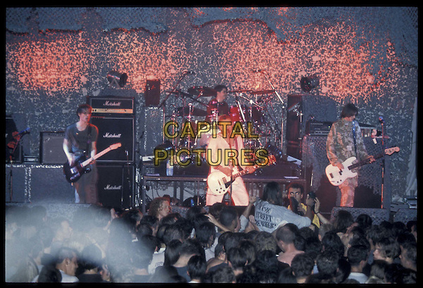 MANIC STREET PREACHERS.Ref: 6240.live, stage, concert, music, fans, crowd.*RAW SCAN- photo will be adjusted for publication*.www.capitalpictures.com.sales@capitalpictures.com.©Capital Pictures