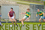 Kerry's Tommy Walsh and Galway's Finian Hanley.