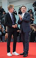 Ethan Hawke, Levon Roan Thurman-Hawke at the First Reformed premiere, 74th Venice Film Festival in Italy on 31 August 2017.<br /> <br /> Photo: Kristina Afanasyeva/Featureflash/SilverHub<br /> 0208 004 5359<br /> sales@silverhubmedia.com