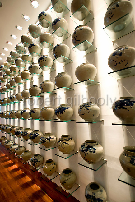 Photo shows the lobby of the Imperial Palace (IP) Boutique Hotel in Itaewon. Yongsan district of of Seoul, South Korea on 25 June 2010..Photographer: Rob Gilhooly
