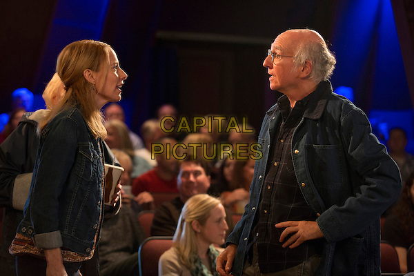 Amy Ryan &amp; Larry David<br /> in Clear History (2013) <br /> *Filmstill - Editorial Use Only*<br /> CAP/FB<br /> Image supplied by Capital Pictures