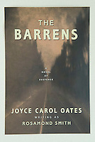 THE BARRENS, by Joyce Carol Oates<br /> <br /> Carroll &amp; Graf Publishers, Inc., New York<br /> Jacket Design:  Susan Shapiro<br /> <br /> Photo of a road scene in the New Jersey Pine Barrens available from Getty Images, search for image #10125358
