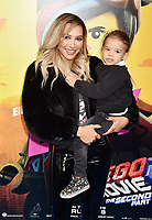 WESTWOOD, CA - FEBRUARY 02: Naya Rivera attends the Premiere Of Warner Bros. Pictures' 'The Lego Movie 2: The Second Part' at Regency Village Theatre on February 2, 2019 in Westwood, California.<br /> CAP/ROT/TM<br /> ©TM/ROT/Capital Pictures