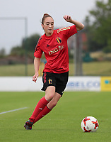 20200627 - TUBIZE , Belgium : Hanne Heillinx is pictured during a training session of the Belgian Red Flames U19, on the 27 th of June 2020 in Tubize.  PHOTO SEVIL OKTEM| SPORTPIX.BE