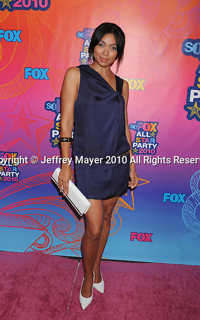 SANTA MONICA, CA. - August 02: Tamara Taylor arrives at the FOX 2010 Summer TCA All-Star Party at Pacific Park - Santa Monica Pier on August 2, 2010 in Santa Monica, California.