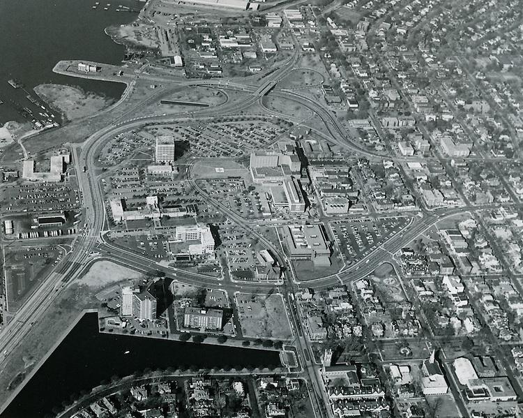 1979 January 30..Redevelopment.Atlantic City (R-1)..EVMS Medical School Campus.View looking West.10:47-10:50..NEG#.NRHA#..