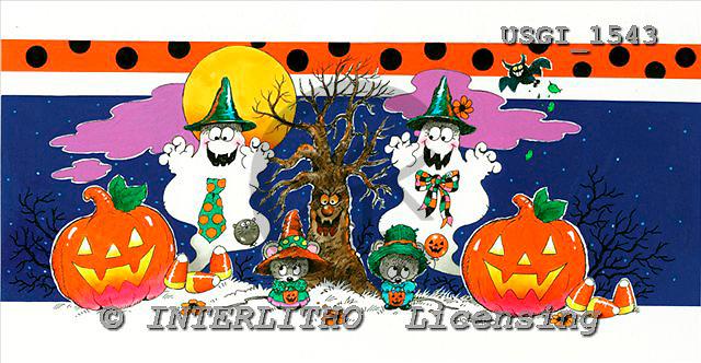 GIORDANO, CUTE ANIMALS, LUSTIGE TIERE, ANIMALITOS DIVERTIDOS, Halloween, paintings+++++,USGI1543,#AC#