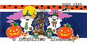 GIORDANO, CUTE ANIMALS, LUSTIGE TIERE, ANIMALITOS DIVERTIDOS, Halloween, paintings+++++,USGI1543,#AC#