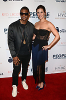 LOS ANGELES, CA - NOVEMBER 13: Usher and Kaily Smith Westbrook at People You May Know at The Pacific Theatre at The Grove in Los Angeles, California on November 13, 2017. Credit: David Edwards/MediaPunch