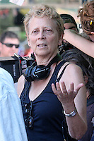 Director Naomi Foner, mother of Jake_and Maggie_Gyllenhaal on the set of &quot;Very Good Girls&quot; in Brooklyn, New York, 12.07.2012...Credit: Rolf Mueller/face to face /MediaPunch Inc. ***FOR USA ONLY*** ***Online Only for USA Weekly Print Magazines*** /*NORTEPHOTO*<br />