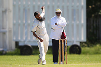 U Mahmmod of Barking  during Newham CC vs Barking CC, Essex County League Cricket at Flanders Playing Fields on 10th June 2017
