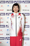 Hitomi Niiya (JPN), <br /> JUNE 10, 2013 - Athletics : Athletics Japan National Team Press Conference for the IAAF World Championships 2013 Moscow at Akasaka Sacas Gallery in Tokyo, Japan. <br /> (Photo by AFLO SPORT)
