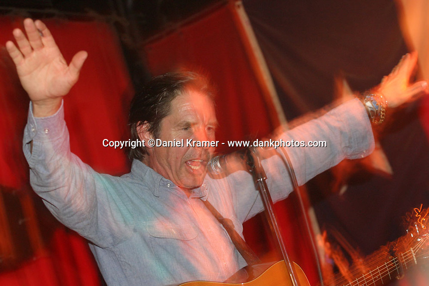 John Doe and The Knitters perform at The Continental Club in Houston, Texas on August 25, 2005.