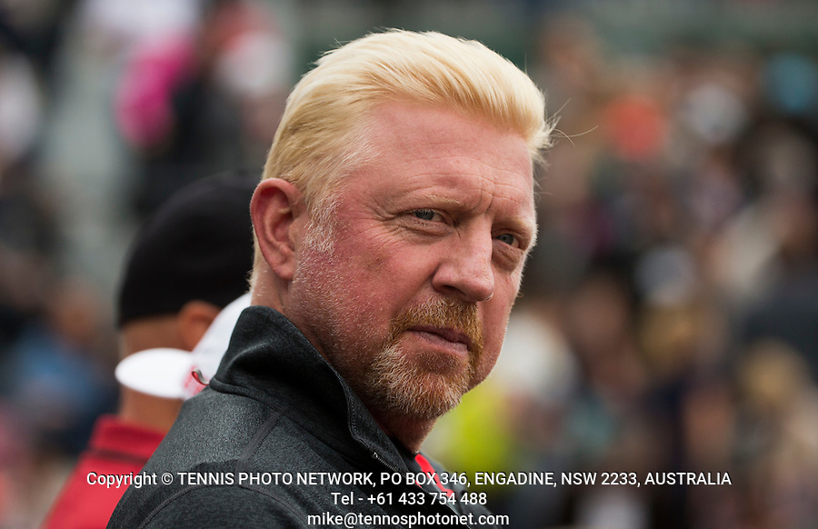 BORIS BECKER<br /> <br /> TENNIS - FRENCH OPEN - ROLAND GARROS - ATP - WTA - ITF - GRAND SLAM - CHAMPIONSHIPS - PARIS - FRANCE - 2016  <br /> <br /> <br /> <br /> &copy; TENNIS PHOTO NETWORK