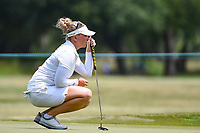 Nanna Koerstz Madsen (DEN) lines up her birdie putt on 4 during round 4 of the 2019 US Women's Open, Charleston Country Club, Charleston, South Carolina,  USA. 6/2/2019.<br /> Picture: Golffile | Ken Murray<br /> <br /> All photo usage must carry mandatory copyright credit (© Golffile | Ken Murray)