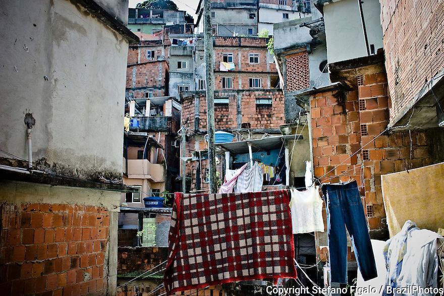 Favela da Rocinha, Rio de Janeiro, Brazil.