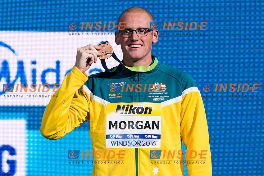 MORGAN David AUS Bronze Medal<br /> Men's 50m Butterfly<br /> 13th Fina World Swimming Championships 25m <br /> Windsor  Dec. 10th, 2016 - Day05 Final<br /> WFCU Centre - Windsor Ontario Canada CAN <br /> 20161210 WFCU Centre - Windsor Ontario Canada CAN <br /> Photo &copy; Giorgio Scala/Deepbluemedia/Insidefoto
