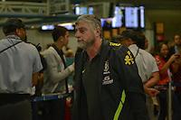 RIO DE JANEIRO, RJ, 16 JULHO 2012 - EMBARQUE SELECAO BRASILEIRA OLIMPICA - Dr. Runco da Selecao Brasileira Olimpica de Futebol, durante embarque para Londres, onde disputara as olimpiadas, no Galeao, Aeroporto Internacional do Rio de Janeiro, na Ilha do Governador no Rio de Janeiro, nesta segunda-feira, 16. (FOTO: MARCELO FONSECA / BRAZIL PHOTO PRESS).